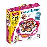 Quercetti 2101 - Mosaik-Steckspiel Pixel Mandala daisy, 1200 Stecker...