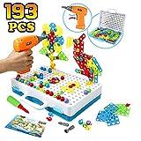 Mosaik Steckspiel Schraube Spielzeug - 3D Puzzle Pädagogisches...